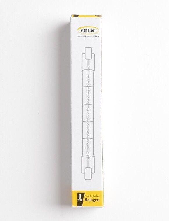10 x Athalon 200 Watt T3 Halogen 130V Recessed Single Contact (R7s).