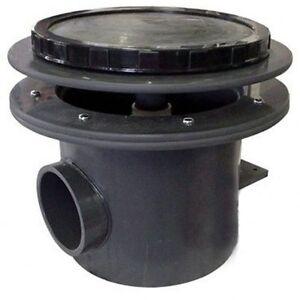 Aquadyne Rhino Ii Bottom Drain 4 Quot Pipe With Air Diffuser