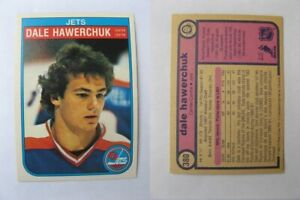 1982-83-OPC-O-Pee-Chee-380-Hawerchuk-Dale-RC-Rookie-jets-20-8