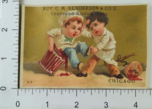 in spazzatura lotta Co's Henderson Shoes ragazzi un C bidone Due della Boots m con adorabili q64z8H