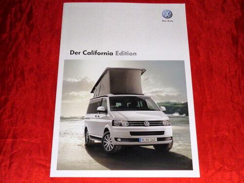 """VW t5 California /""""Edition/"""" speciale prospetto modello di 2012"""