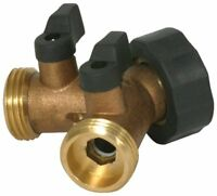 Camco - Tastepure Brass Y-valve shut Off-valve Fresh Water - Item 20123 Plumbing Supplies on Sale