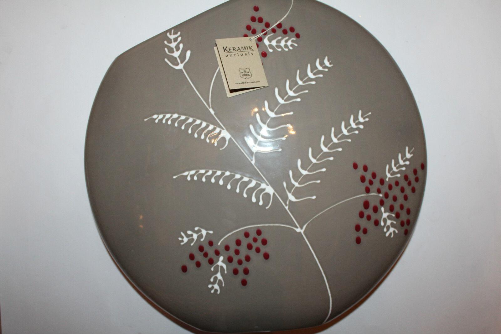 Gilde Vase Bodenvase Keramik  XXL Neu
