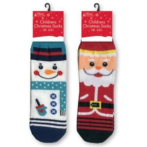Boys Christmas Socks.Details About Lovely Childrens Christmas Socks One Size Boys Or Girls Santa Socks Snowman Sock