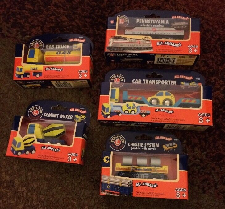 5 Train Pieces From Lionel Heritage Series All Aboard