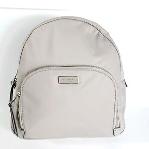 cute cheap enjoy lowest price clearance sale Details about NEW KATE SPADE NEW YORK NYLON MEDIUM DAWN BACKPACK BAG Soft  Taupe (Grey)