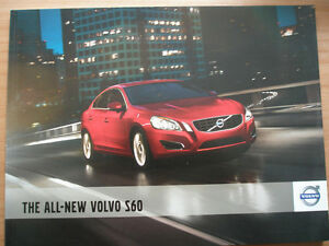 volvo s60 range brochure may 2011 ebay rh ebay co uk 2014 Volvo S60 2011 Volvo S60 Interior