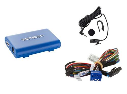 Dension Blue gbl3ai2 USB iPod iPhone 3 4 4s Bluetooth audi a3 a4 TT Interface