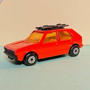 Matchbox-Superfast-MB-7-VW-Volkswagen-Golf-Mk1-Edicion-Rara-Rojo