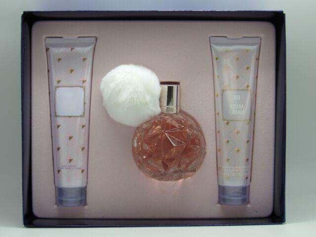 Gift Set 3pc Ari For Women By Ariana Grande Eau De Parfum 34 Oz For