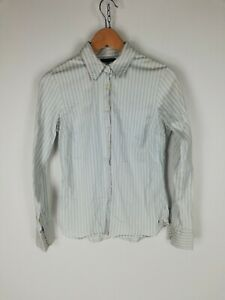 TOMMY-HILFIGER-Camicia-Shirt-Maglia-Chemise-Hemd-Tg-S-Woman-Donna