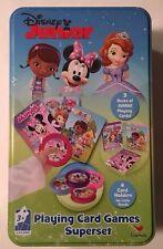 Disney Junior Playing Card Games Superset