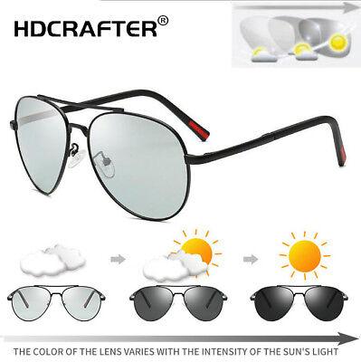 New Photochromic Polarized Sunglasses Men S Outdoor Driving Fashion