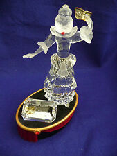 SWAROVSKI SCS 2000 ANNUAL EDITION COLUMBINE, WITH STAND AND PLAQUE