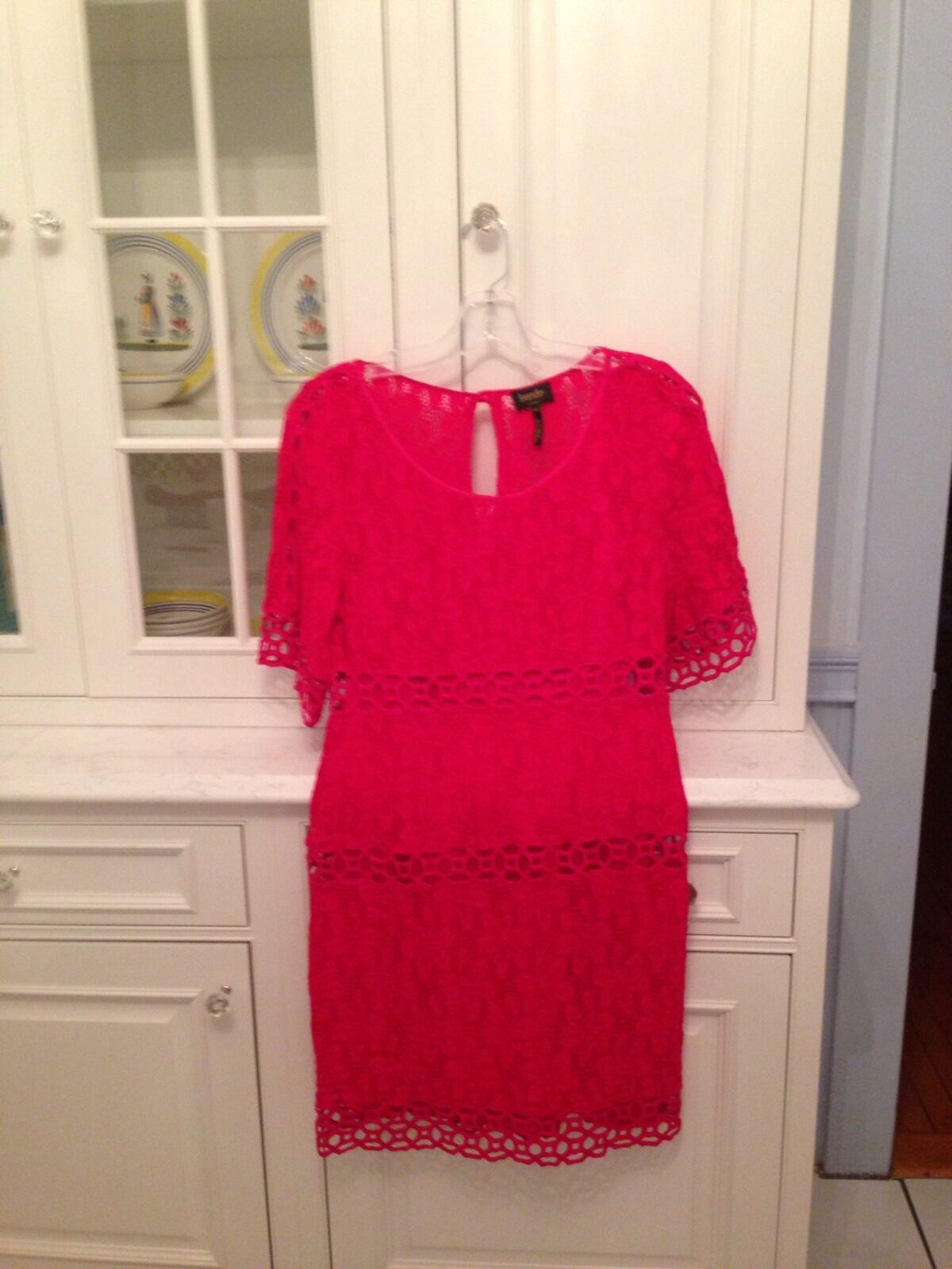 Laundry By Shelli Segal Rosa Stretch Dress 12 NWOT