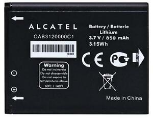 New-OEM-Alcatel-CAB3120000C1-510A-OT-800-OT-880a-OT-710D-768T-Original-Battery