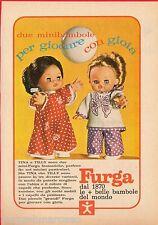 Pubblicità Advertising 1971 FURGA Tina e Tilly