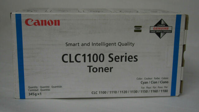 Original Canon CLC 1100 Toner Cyan 1429A002 CLC1100/CLC 1120/CLC 1130/CLC 1150