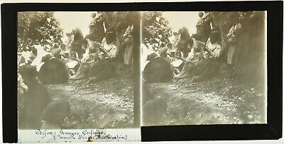 GREECE from the 1920's 400 Set Keystone Stereoview Overlooking Homes in Sparta