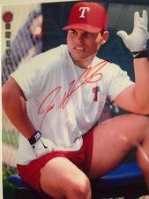 Ivan Pudge Rodriquez Signed Autographed 8 X 10 Baseball Photo AUTO PICTURE HOF