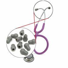 10pcs Silicone Soft Eartips Earplug Earpieces Set For Littmann Stethoscope Parts