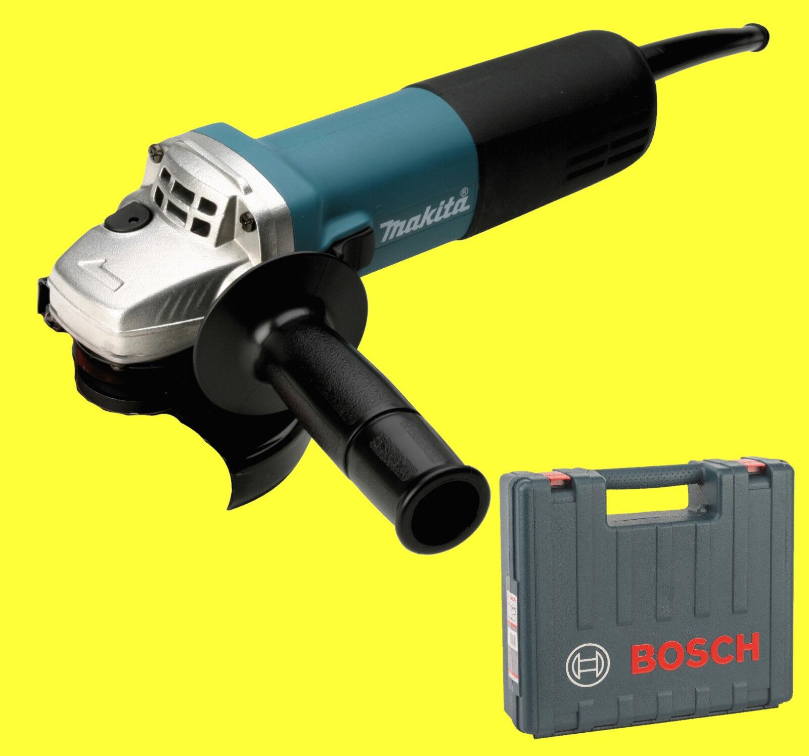 MAKITA Winkelschleifer 9558NBRZ in Bosch Koffer 125 mm - 9558 NBRZ NBR