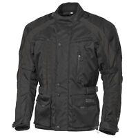 Germas Textil Jacke WINSTON Herren Gr. L Farbe Schwarz ATV Quad Motorrad Roller