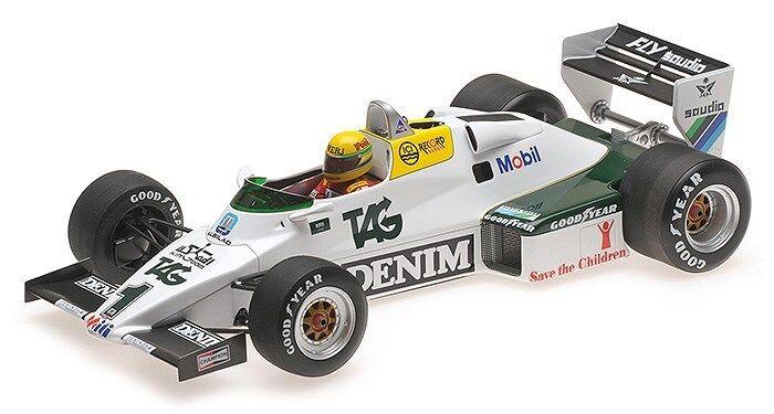 1 18 Senna Collection Williams FW08C 1983 1st F1 GP Test at Donnington L54783180