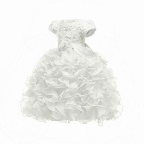 Tutu Dresses Kid Wedding Dress Bridesmaid Baby Party Formal Girl Flower Princess