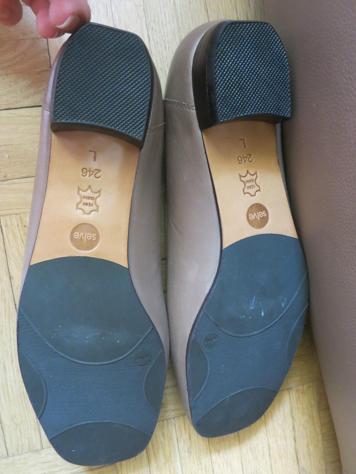 SELVE HANDMADE Gr. Gr. Gr. 39 Schuhe Ballerinas VOLLLEDER handschuhweich NP  NEU ceb60d