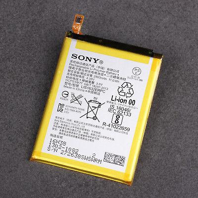 sony xperia xz f8331 akku batterie lis1632erpc 2900mah original ebay. Black Bedroom Furniture Sets. Home Design Ideas