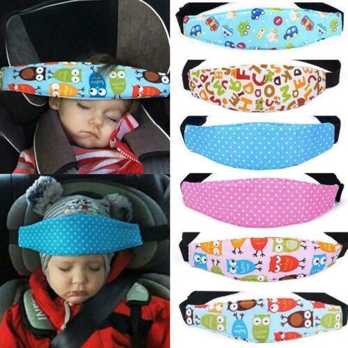 Kinder Baby Autositz Sicherheit Kopfstütze Kissen Nickerchen Rest Kopfstütze Pad