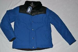 penfield medium  AUTHENTIC PENFIELD MENS ROCKWOOL PLAID YOKE DOWN JACKET COBALT M ...