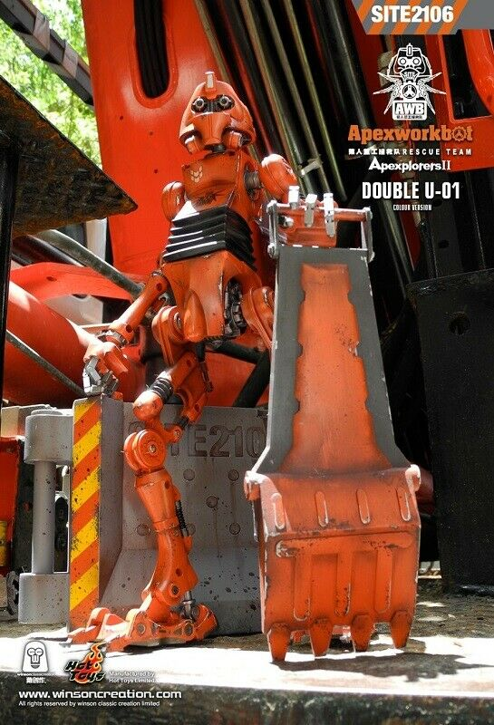 Calientegiocattoli The 1 6 scale Apexlavorobot (doppio U-01)  (Colour Version) azione cifra  negozio online