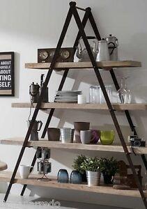 Libreria stile industriale scaffali in legno di rovere e for Scaffali arredo
