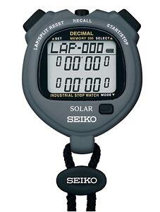 seiko so63 300 lap split memory industrial decimal minute stopwatch