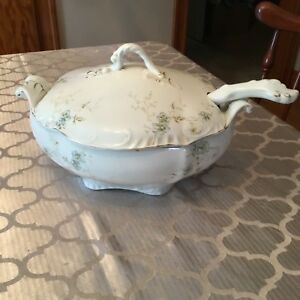 Johnson-Bros-England-Victorian-Soup-Tureen-With-Ladle