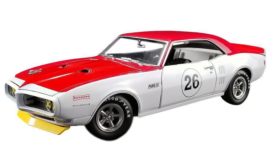 Acme 1 18 1968 Pontiac Trans Am Firebird Tribute Jerry Titus Modelo A1805210