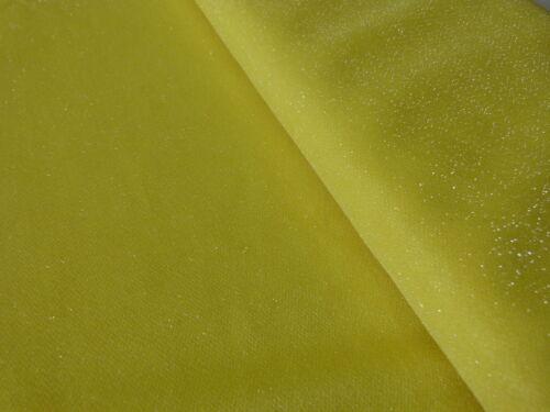 Dekostoff Glitzer Lurex Jersey orange gelb Faschingsstoff Glitzerstoff B:150 cm