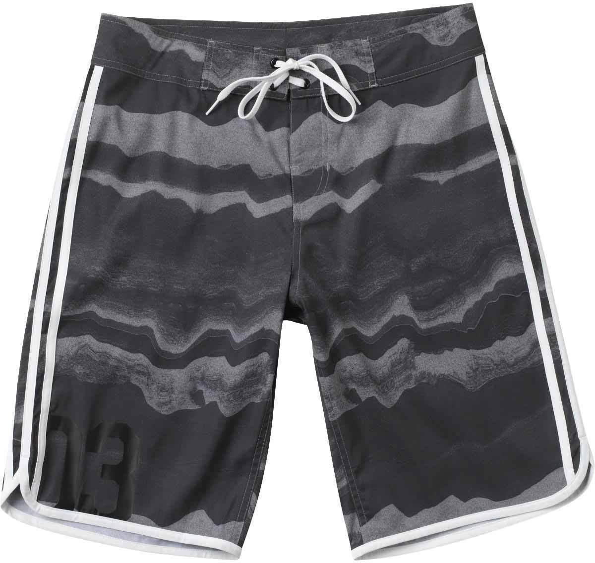 Adidas TONAL HAZE BS Sol Grey All Over Print Swim Trunks Men's Boardshorts