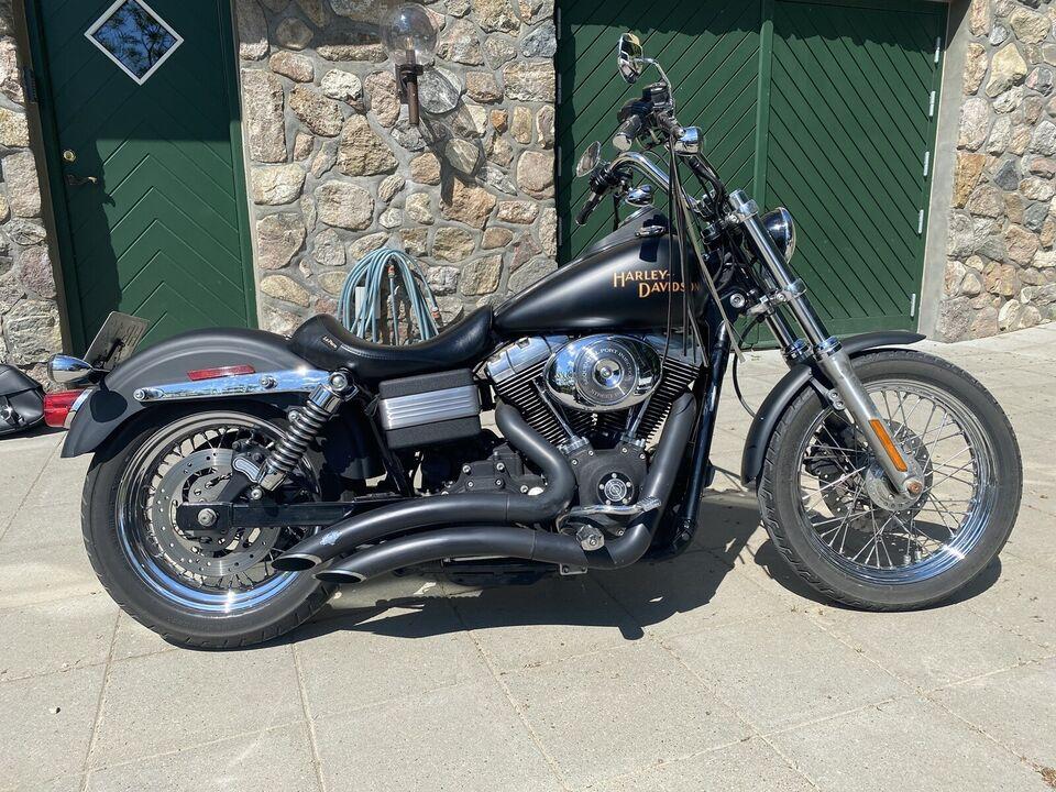Harley-Davidson, Street bob, 1450 ccm