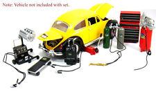Die-cast Metal Car Garage Accessories for 1:18 SCALE AUTOART HOTWHEELS Maisto