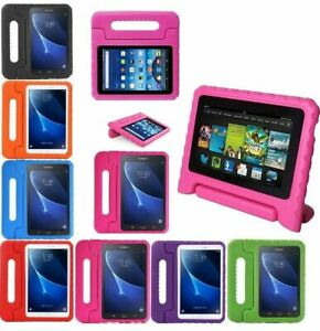 TOUGH-KIDS-SHOCKPROOF-EVA-FOAM-STAND-CASE-Cover-For-Acer-Dell-Honor-7-034-Tablet