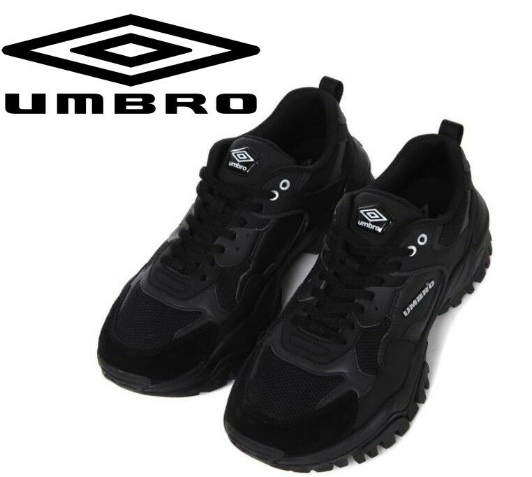 UMBRO X shoes Bumpy Dad Ugly Fashion Street Sneakers,Limited shoes   - Black