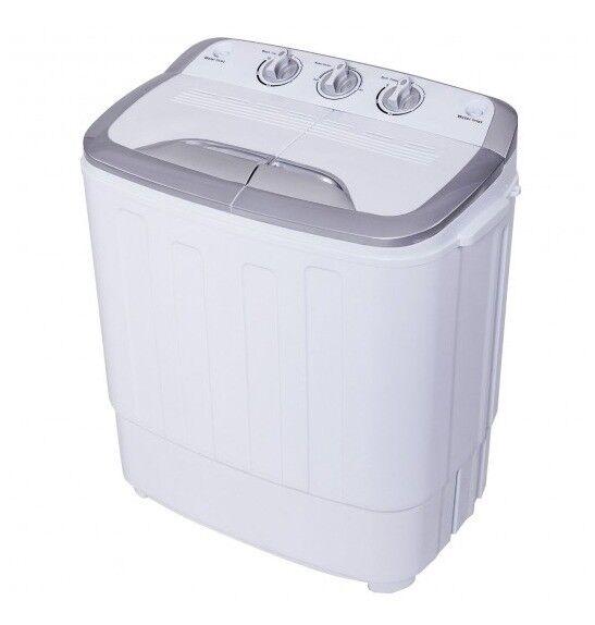 super deal portable compact mini twin tub washing machine white for sale online ebay