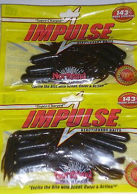 "3.5/"" Natural Northland Tackle  IMPULSE® JIG CRAWLER"