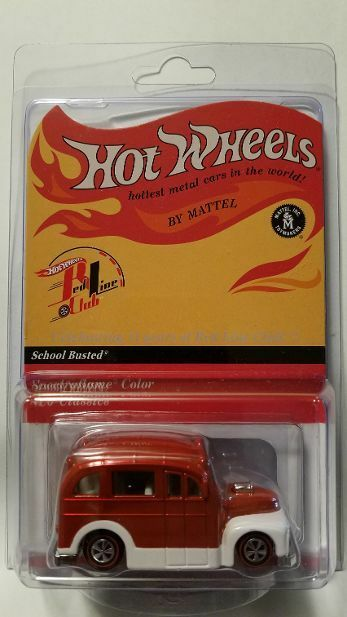 Hot Wheels Wheels Wheels 2012 RLC Members Only Exclusive Subscription School Busted 700 2000 abd7fd
