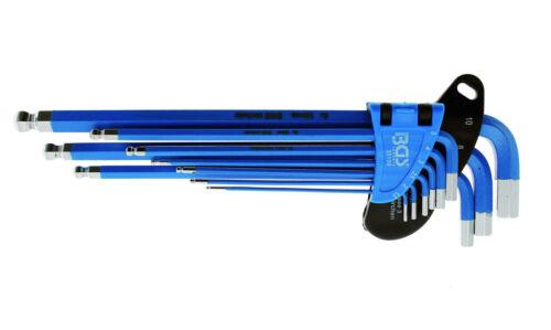 BGS Innensechskantschlüssel 1,5-10 mm LANG Sechskantschlüssel Innen 6-kant Satz