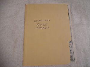 364 Extremely Rare Stamps Folder Salvador Sweden Brazil Bolivia etc 231L