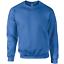 Gildan Sweatshirt Work Jumper Soft Jersey Crew Neck Heavy Duty Workwear